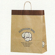 [紙袋/手提げ袋] HEIKO 25チャームバッグ カスタムB