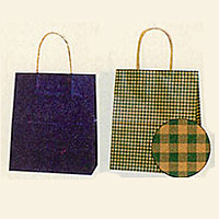 [紙袋/手提げ袋] HEIKO 25チャームバッグ 21-12