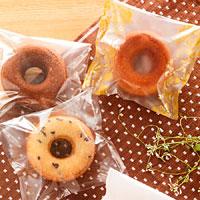 スイーツ包装資材 焼きドーナツ用資材