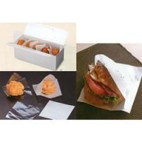 シュークリームサービスボックス/シュークリーム袋/プロヴァンス柄紙袋/マルセイユバーガー袋