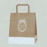 [紙袋/手提げ袋] HEIKO Hフラットチャームバッグ 220-2