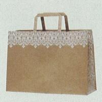 [紙袋/手提げ袋] HEIKO Hフラットチャームバッグ 340-1