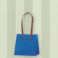 HEIKO インサイドバッグ ブルー×ストライプ SS