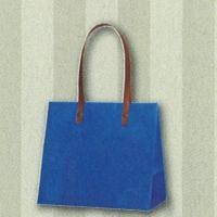 HEIKO インサイドバッグ ブルー×ストライプ S
