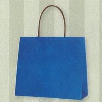 HEIKO インサイドバッグ ブルー×ストライプ M