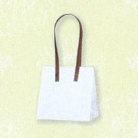 HEIKO インサイドバッグ ホワイト×花 SS