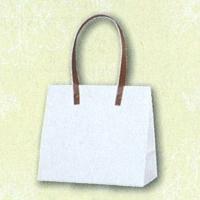HEIKO インサイドバッグ ホワイト×花 S