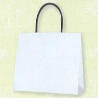 HEIKO インサイドバッグ ホワイト×花 M
