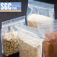 ストロングパック SGC300(チャック付ボトムガセット袋)