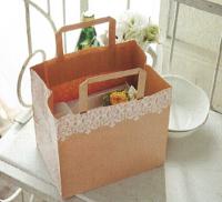紙袋(手提げ袋) HEIKO:Hフラットチャームバッグ