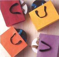 紙袋(手提げ袋) HEIKO:カラーバッグ